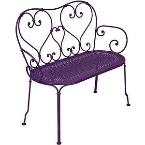 1900 by Fermob Banquette aubergine