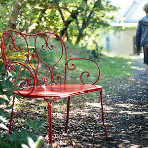 1900 by Fermob Banquette coquelicot