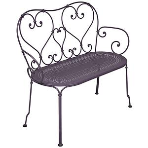 1900 by Fermob Banquette prune