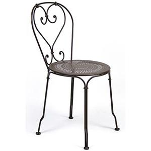1900 by Fermob Chaise brun rouille