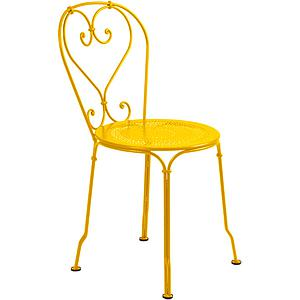 1900 by Fermob Chaise jaune miel