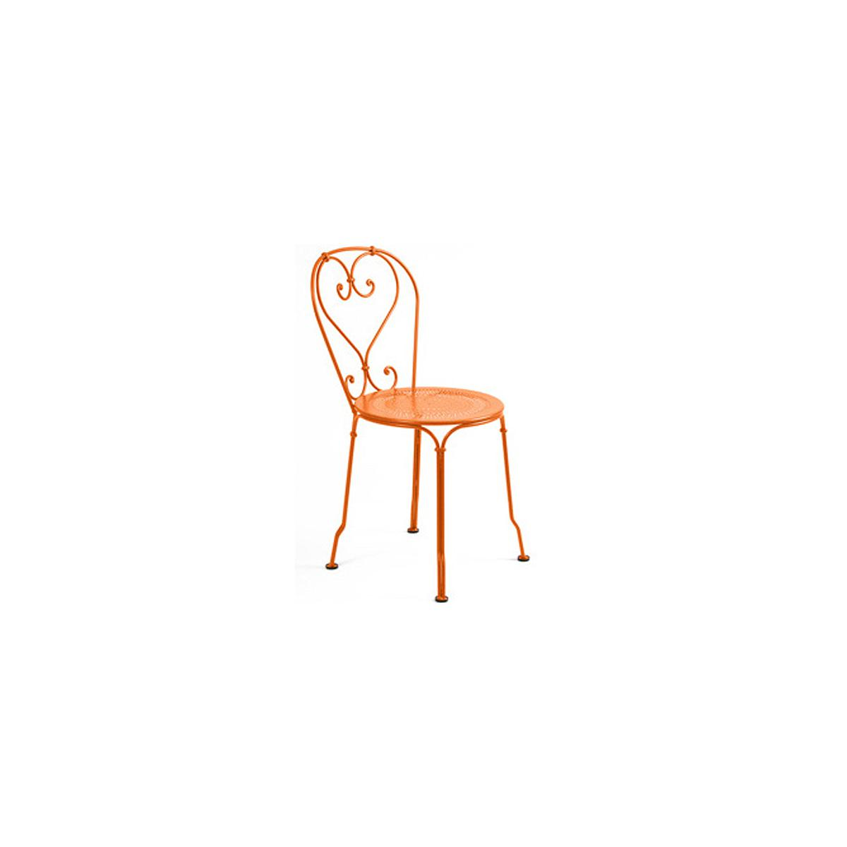 1900 by Fermob Chaise orange carotte