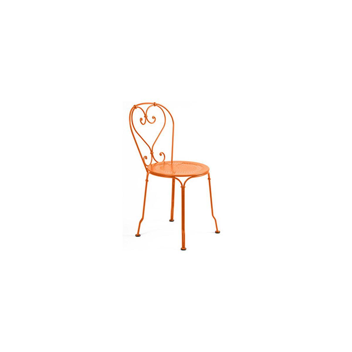 1900 by Fermob Chaise orange carotte