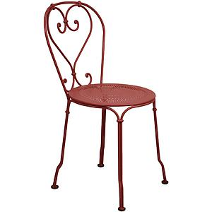 1900 by Fermob Chaise rouge piment