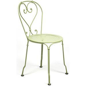 1900 by Fermob Chaise vert tilleul