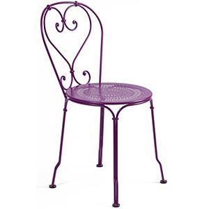 1900 by Fermob Chaise violet aubergine