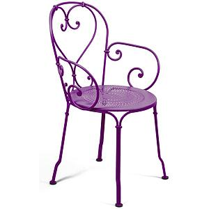 1900 by Fermob Fauteuil aubergine