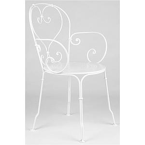1900 by Fermob Fauteuil blanc coton