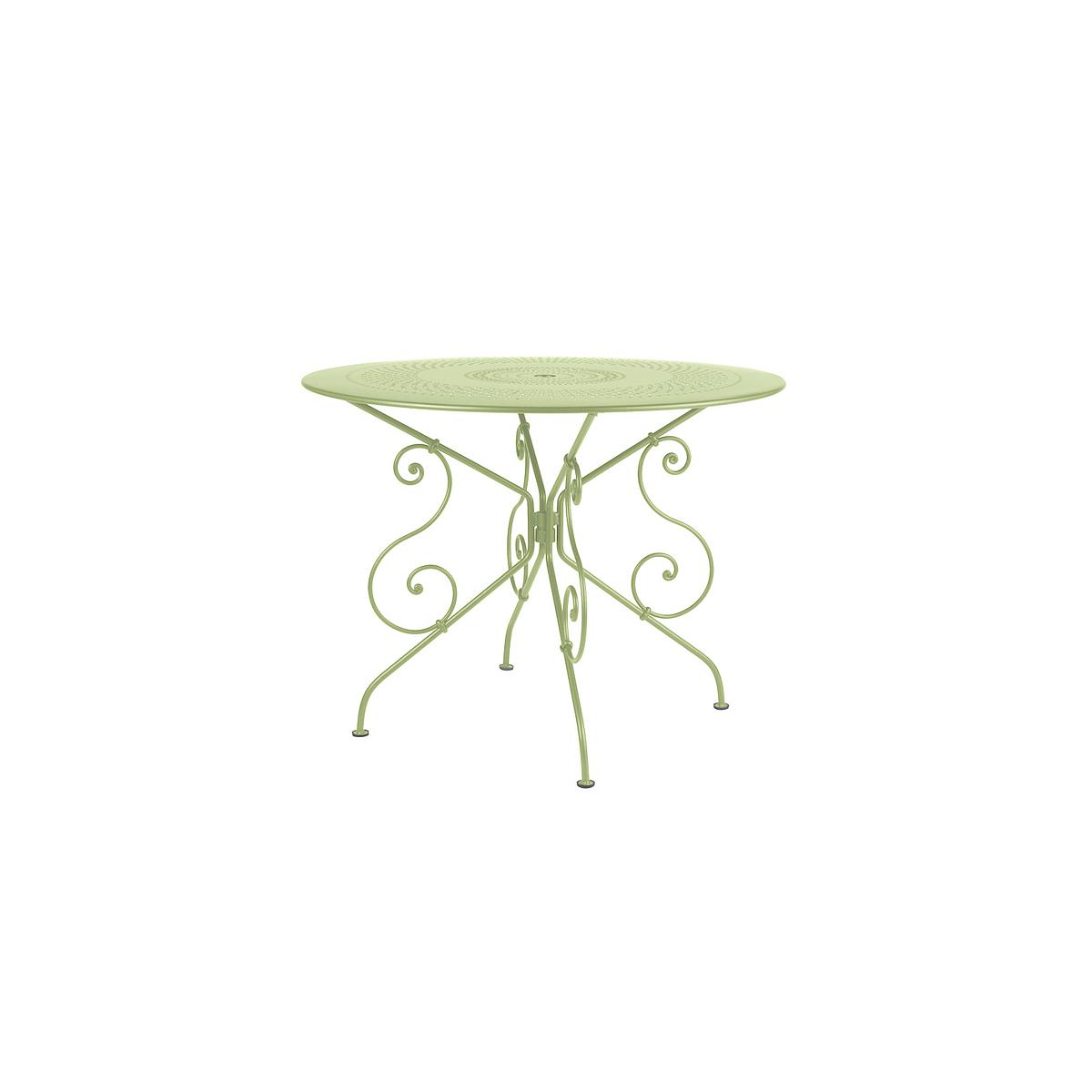 1900 by Fermob Table ronde 96 cm tilleul