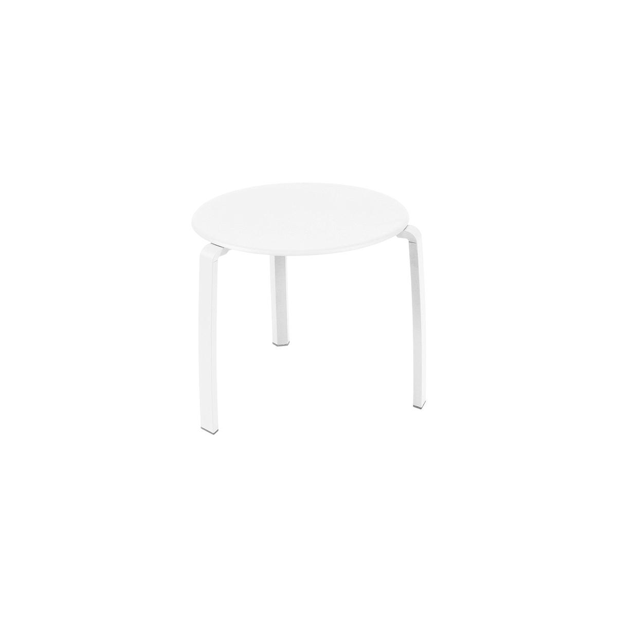 ALIZE by Fermob Table basse Blanc coton