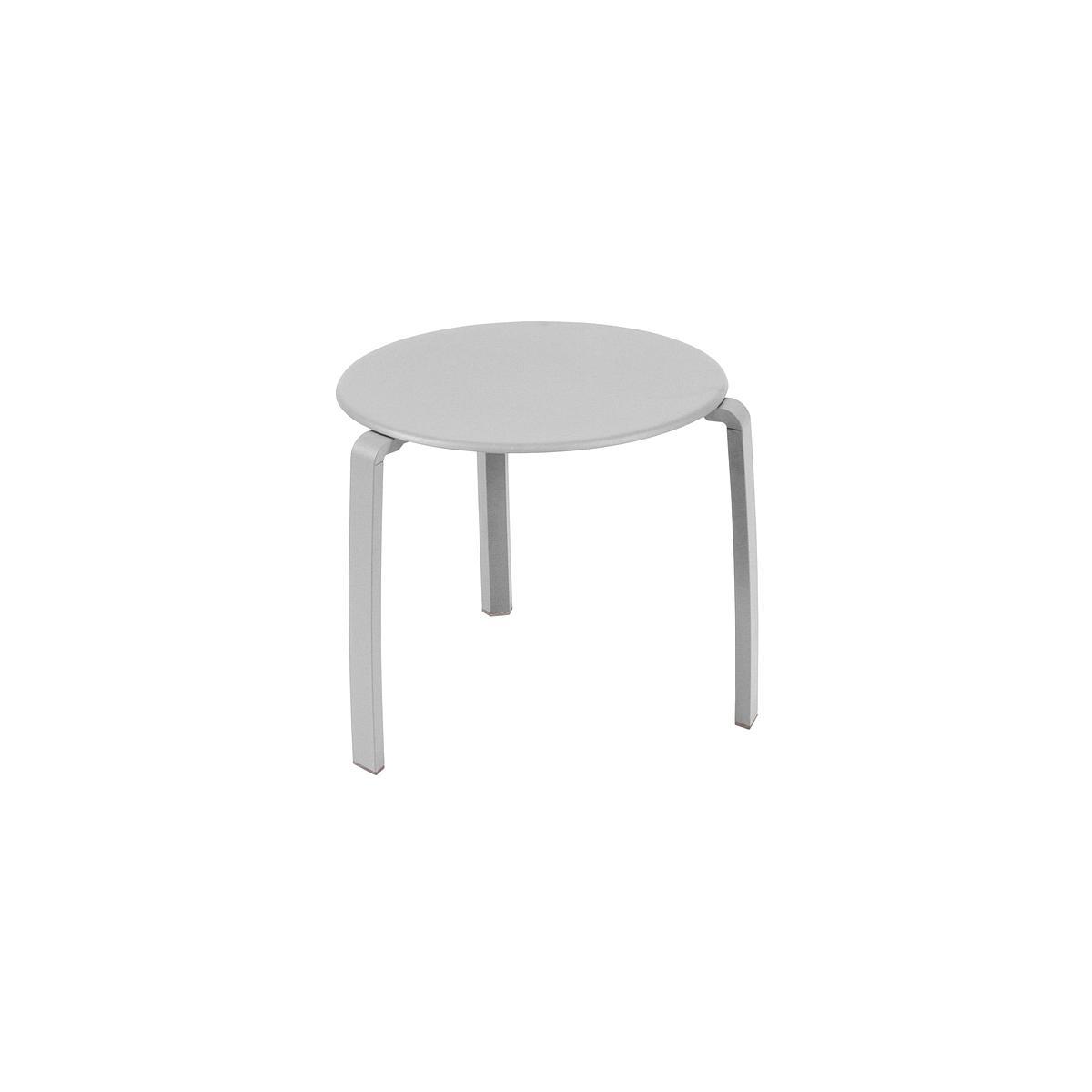 ALIZE by Fermob Table basse Gris métal
