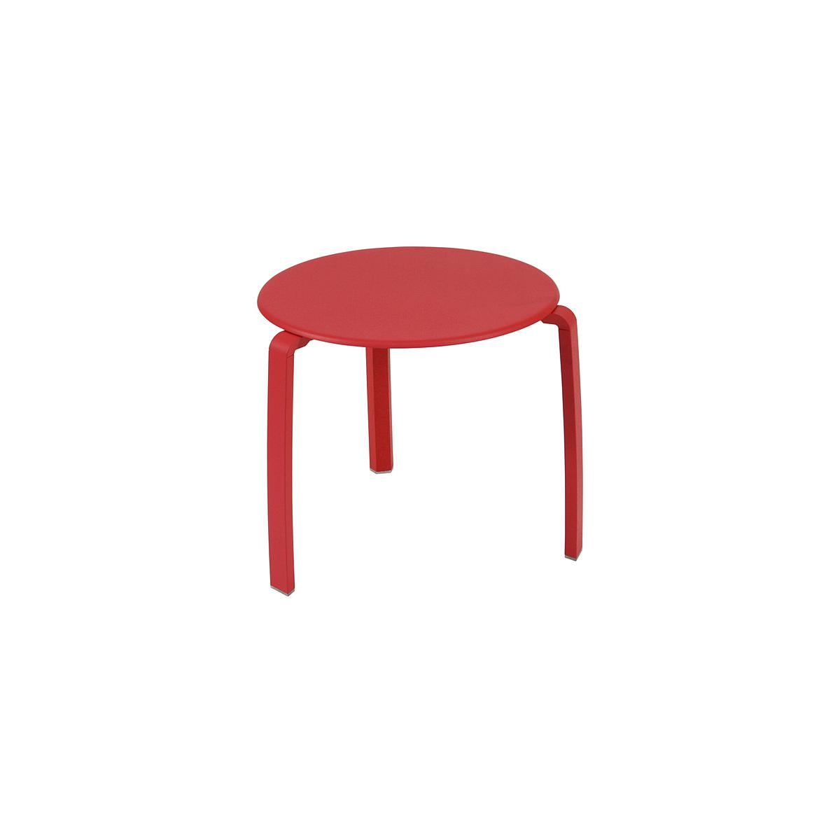 ALIZE by Fermob Table basse Rouge coquelicot