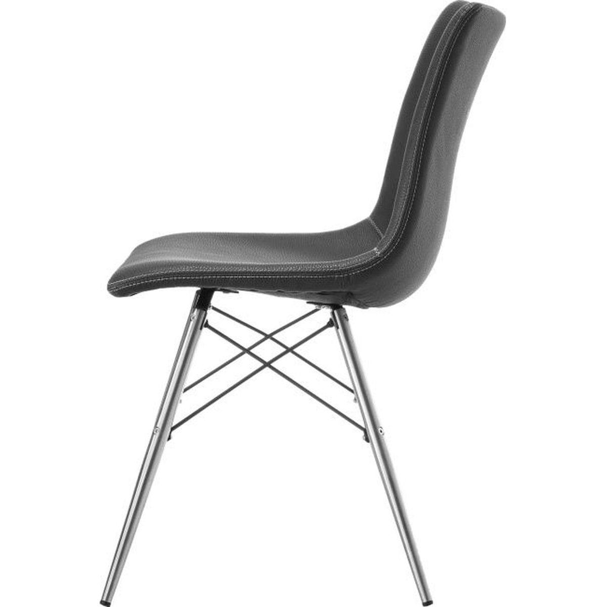 AMBRA by Xooon Chaise noire