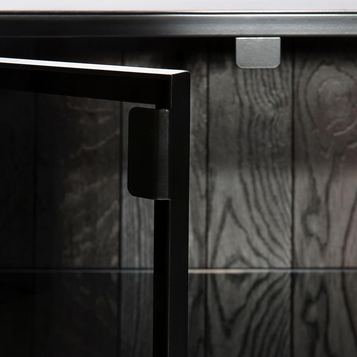 Armoire 160cm ANDERS Ethnicraft noir