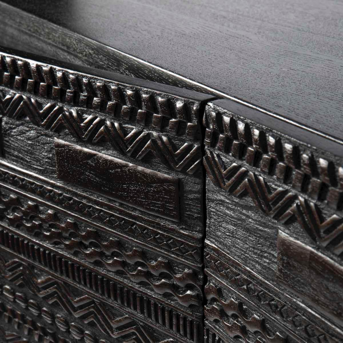 Armoire 160x200cm TABWA Ethnicraft teck noir