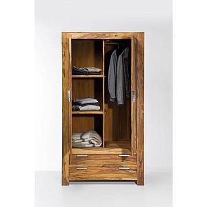 Armoire 2 portes 2 tiroirs AUTHENTICO Kare Design