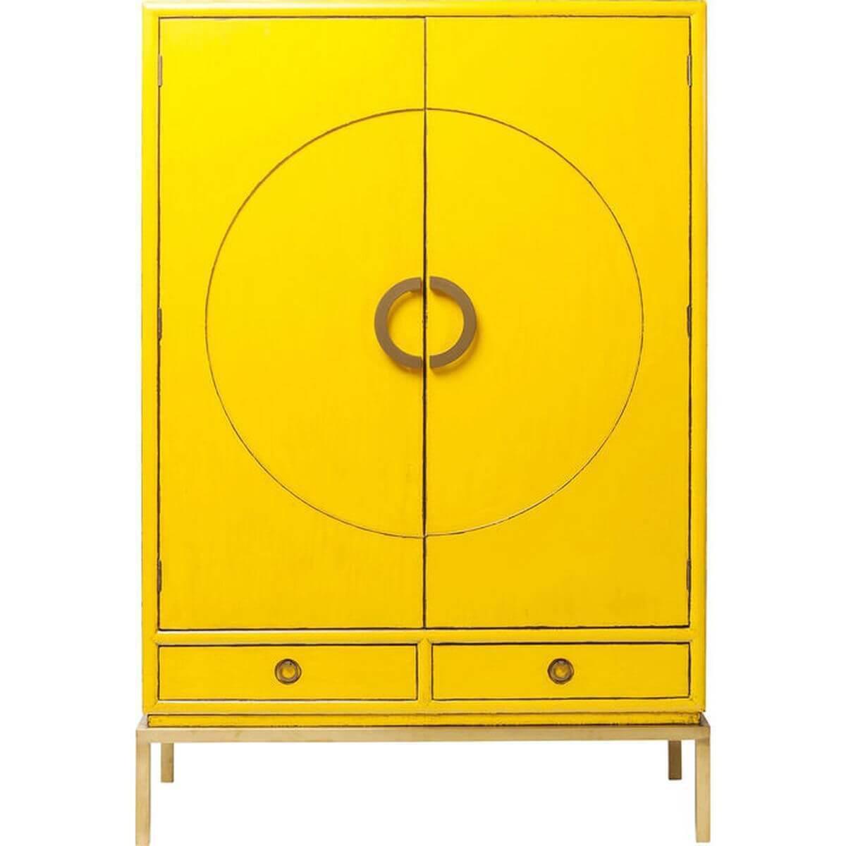 Armoire DISK Kare Design jaune