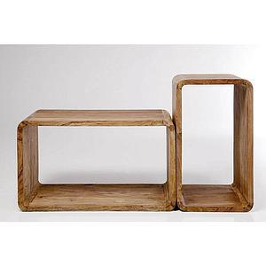 AUTHENTICO by Kare  Set de 2 cubes rectangulaires
