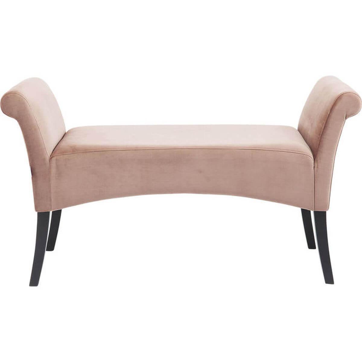 Banquette MOTLEY VELVET Kare Design rose