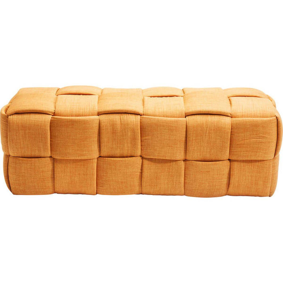 Banquette WOVEN Kare Design orange