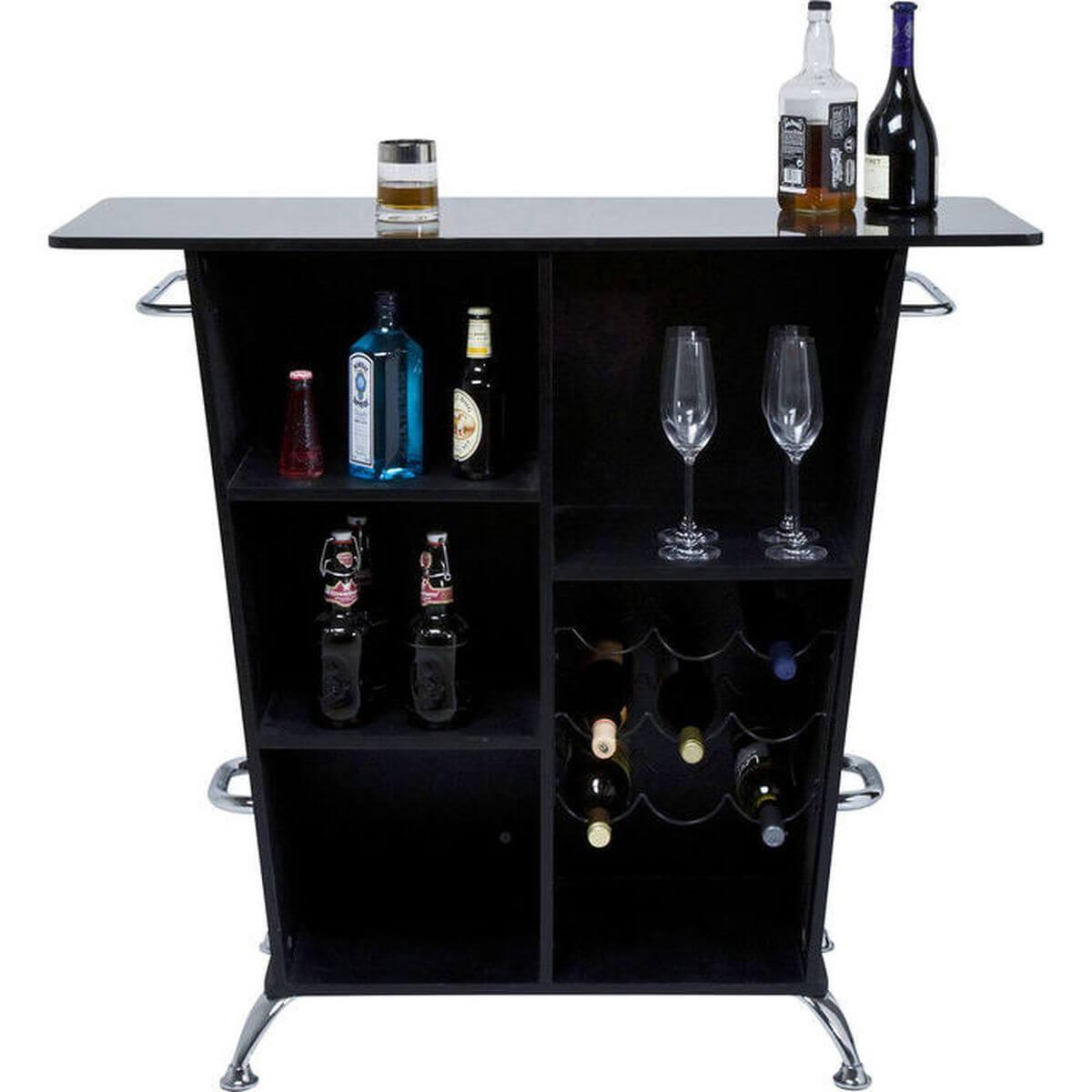Bar LADY ROCK Kare Design noir
