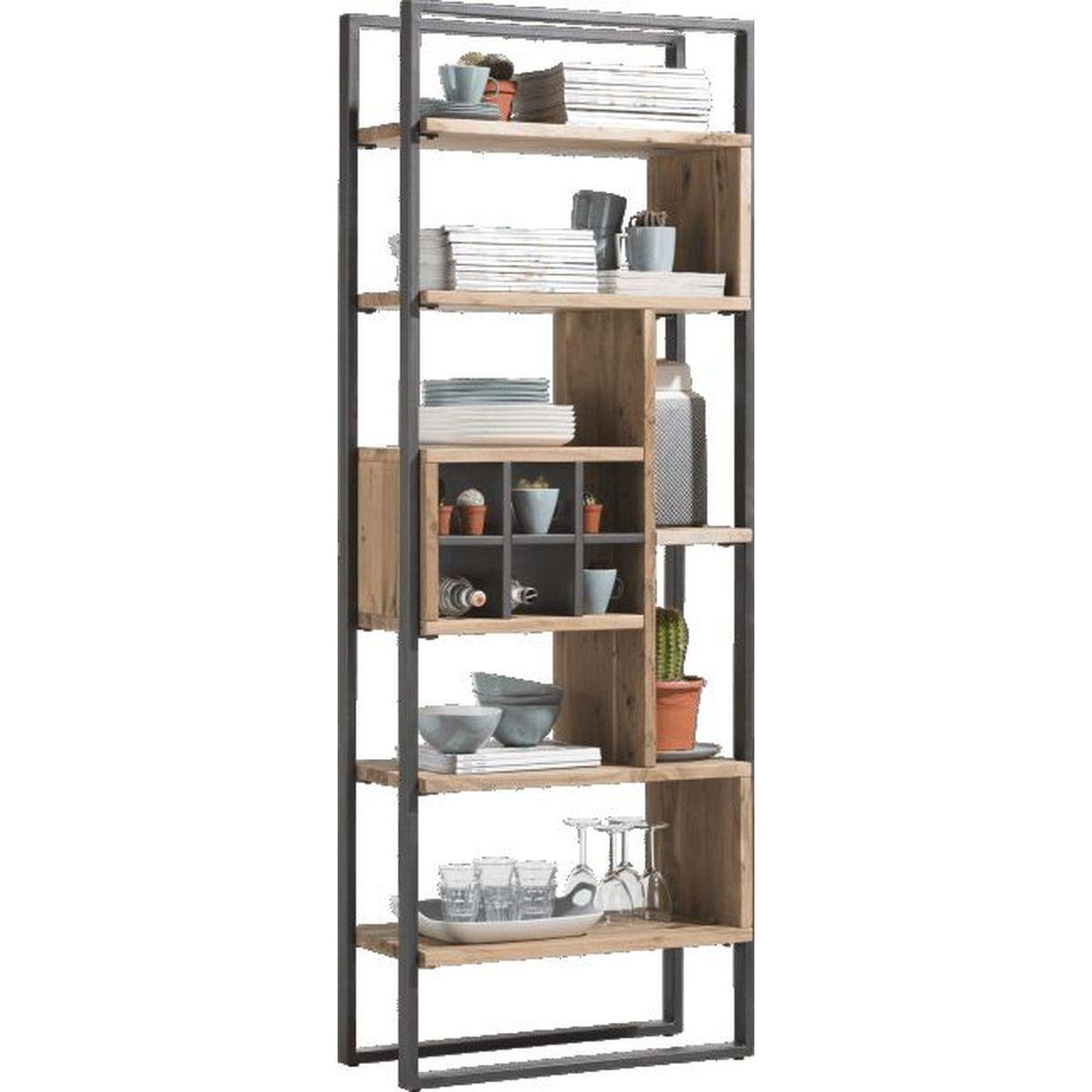 Bibliothèque QUEBEC Henders & Hazel 70cm pieds en métal