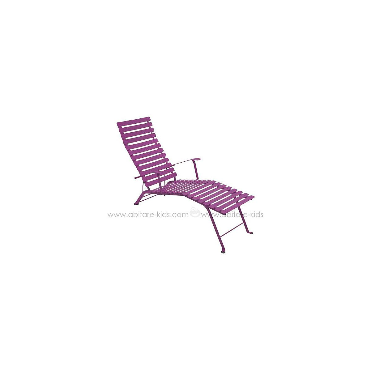 BISTRO by Fermob Chaise longue aubergine