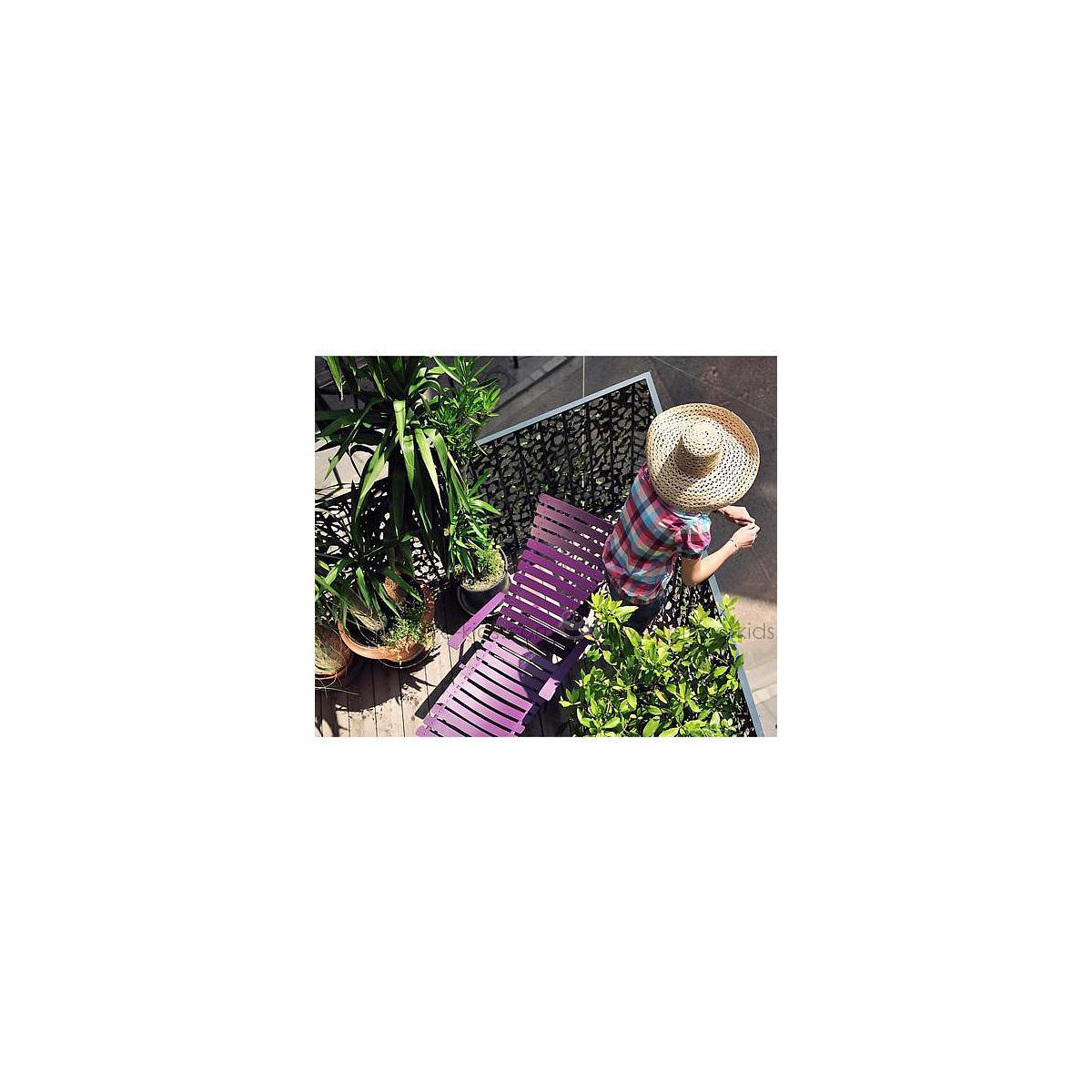 BISTRO by Fermob Chaise longue aubergine