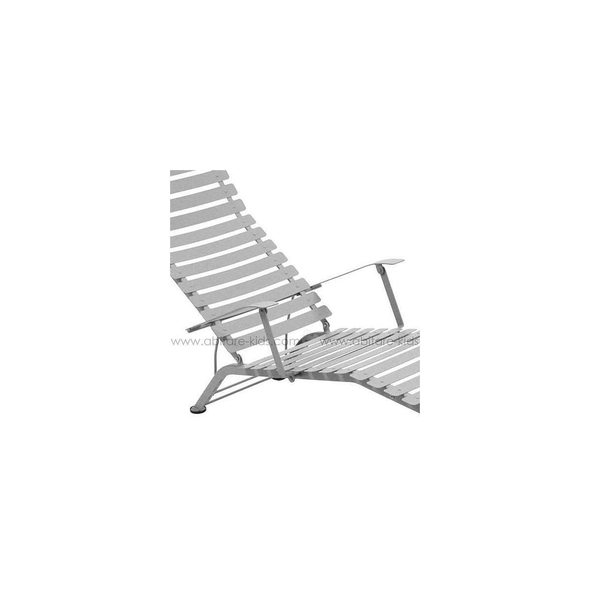 BISTRO by Fermob Chaise longue gris métal