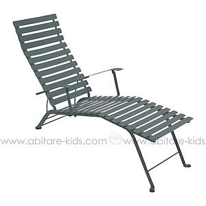 BISTRO by Fermob Chaise longue gris orage