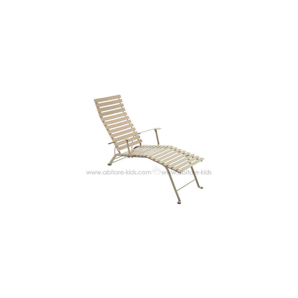 BISTRO by Fermob Chaise longue muscade