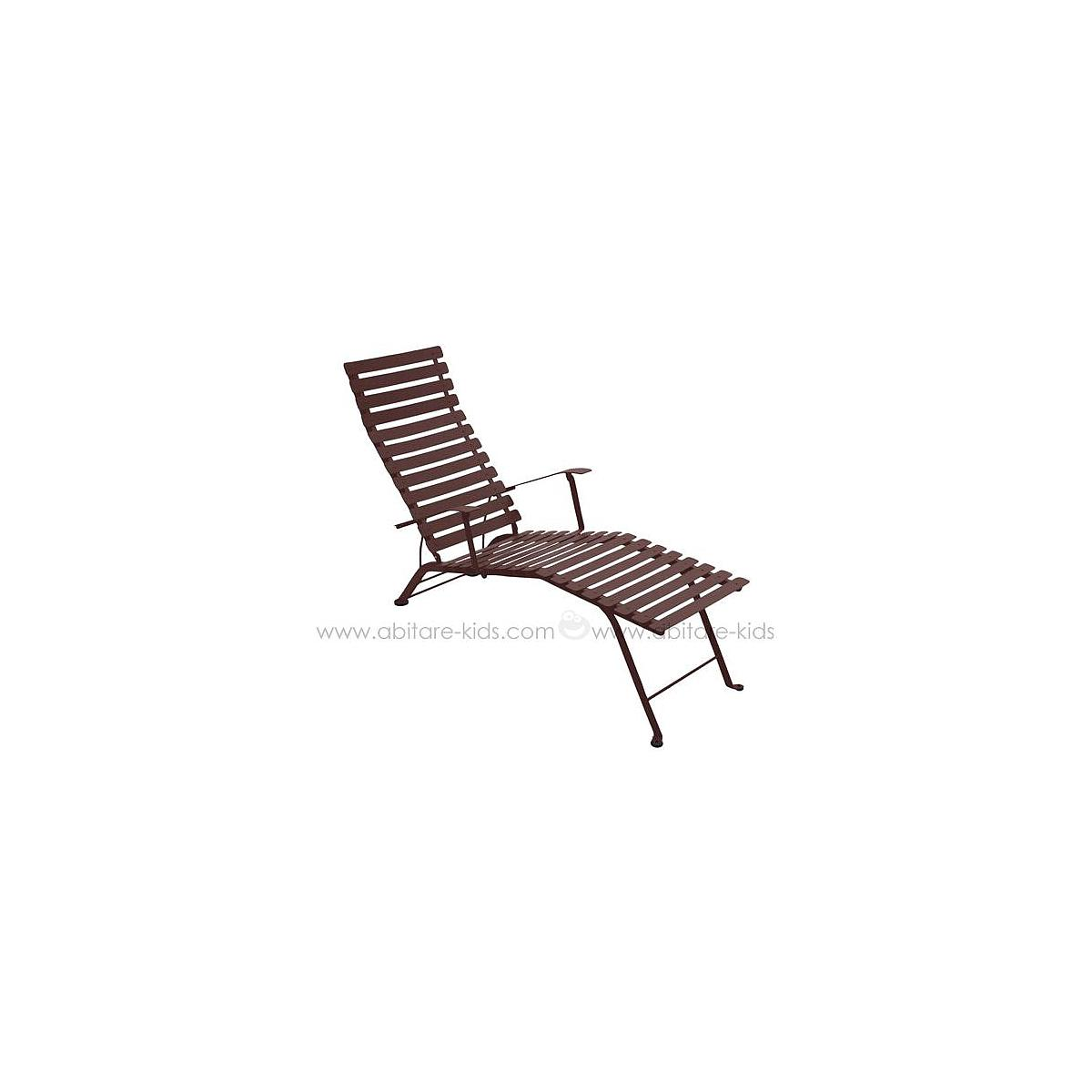 BISTRO by Fermob Chaise longue rouille