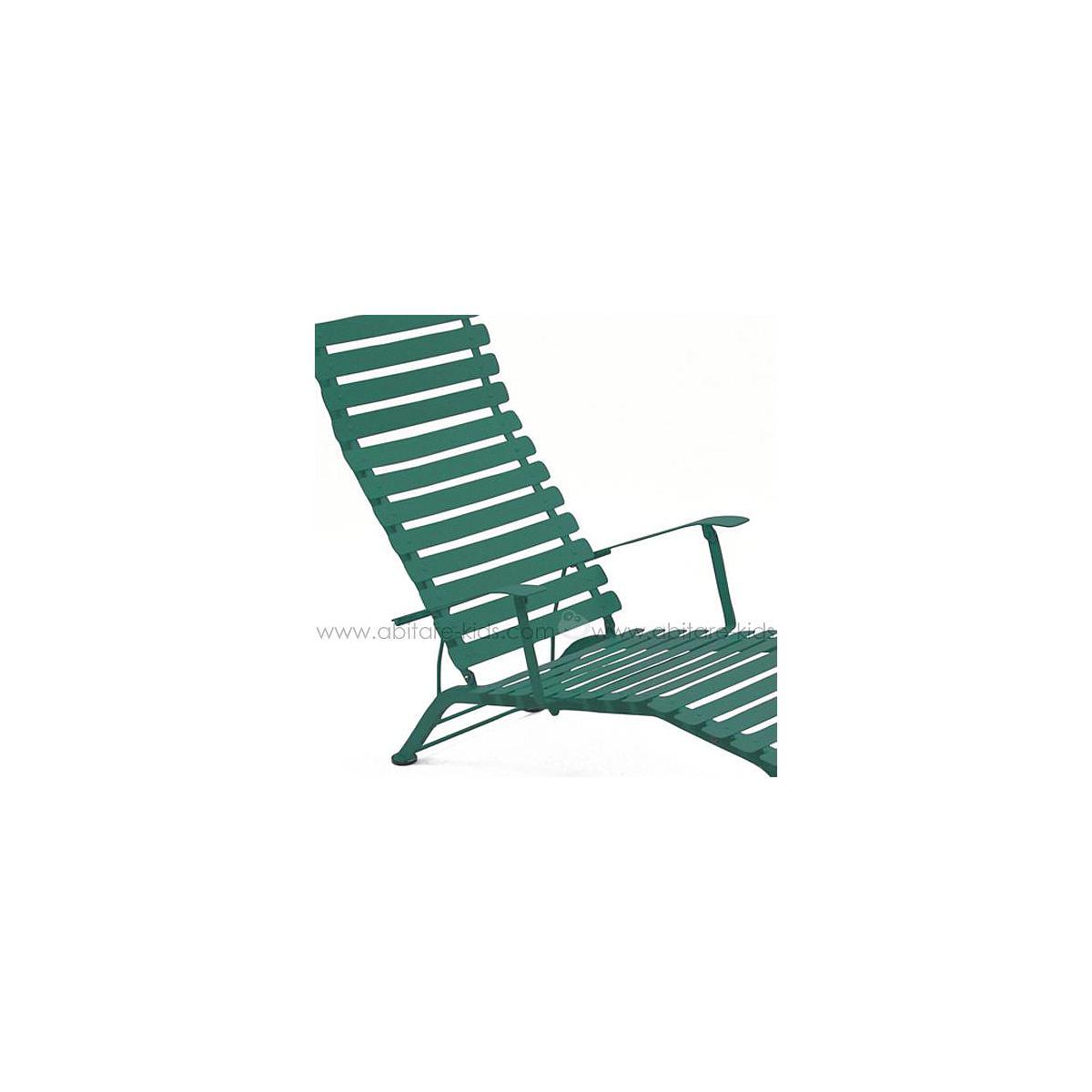 BISTRO by Fermob Chaise longue vert cèdre