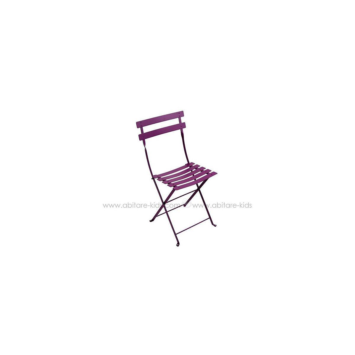 BISTRO by Fermob Chaise pliante aubergine