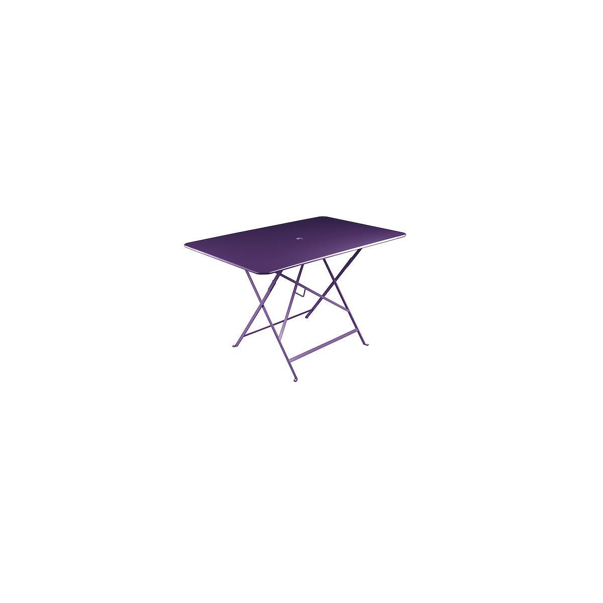 BISTRO by Fermob Table 117x77 cm Aubergine