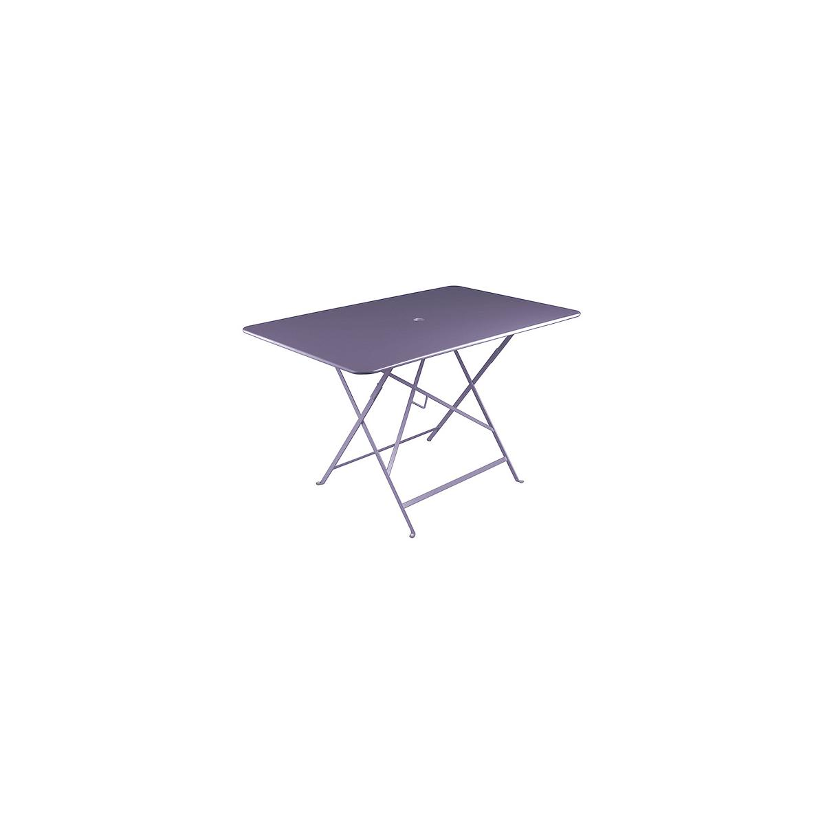BISTRO by Fermob Table 117x77 Mauve prune