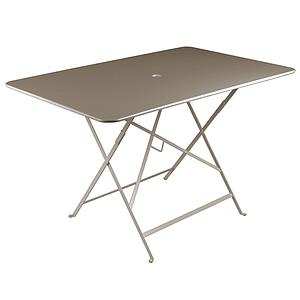 BISTRO by Fermob Table 117x77cm Brun muscade
