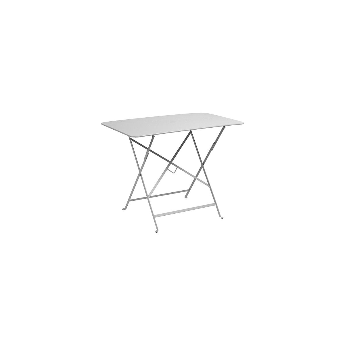 BISTRO by Fermob Table 97x57cm  Gris métal