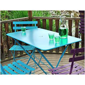 BISTRO by Fermob Table 97x57cm  Gris métal
