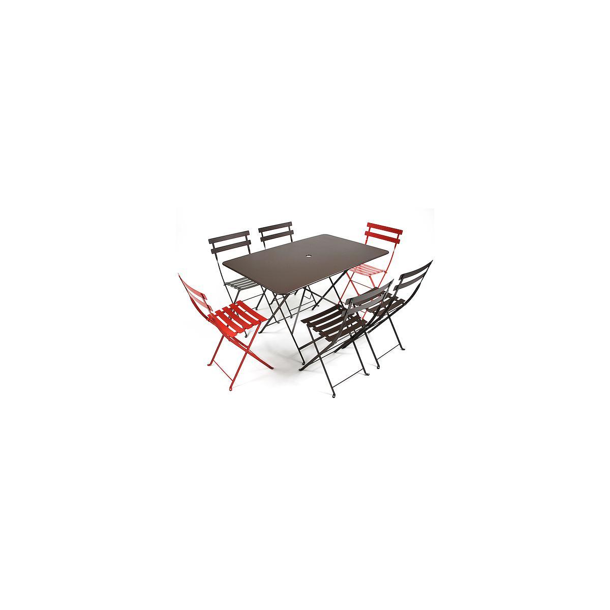 BISTRO by Fermob Table noir réglisse