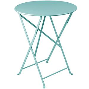 BISTRO by Fermob Table ronde 60cm Bleu lagune