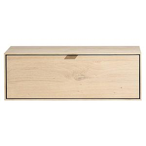 Box 30x90cm 1 porte rabattante ELEMENTS Xooon natural