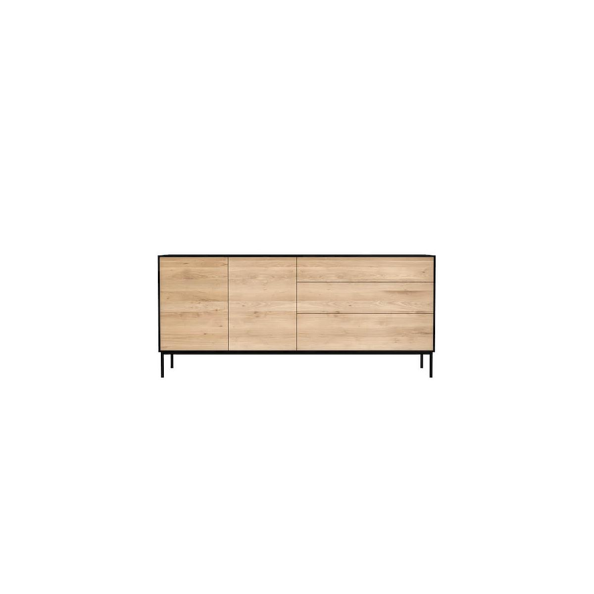 Buffet OAK BLACKBIRD Ethnicraft 2 portes 3 tiroirs