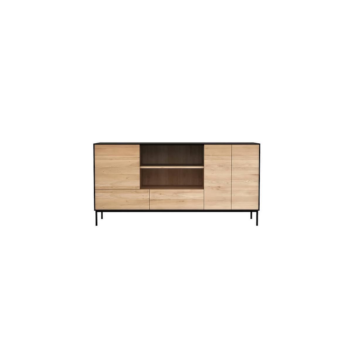 Buffet OAK BLACKBIRD Ethnicraft 3 portes 2 tiroirs
