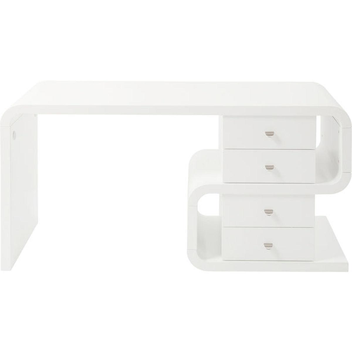 Bureau 150x70cm WHITE CLUB SNAKE Kare Design