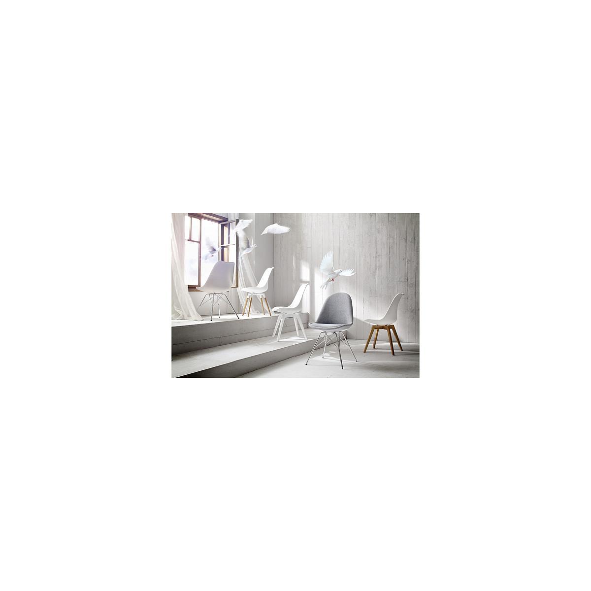 C-BAR by Tenzo Pied Fido blanc/chêne