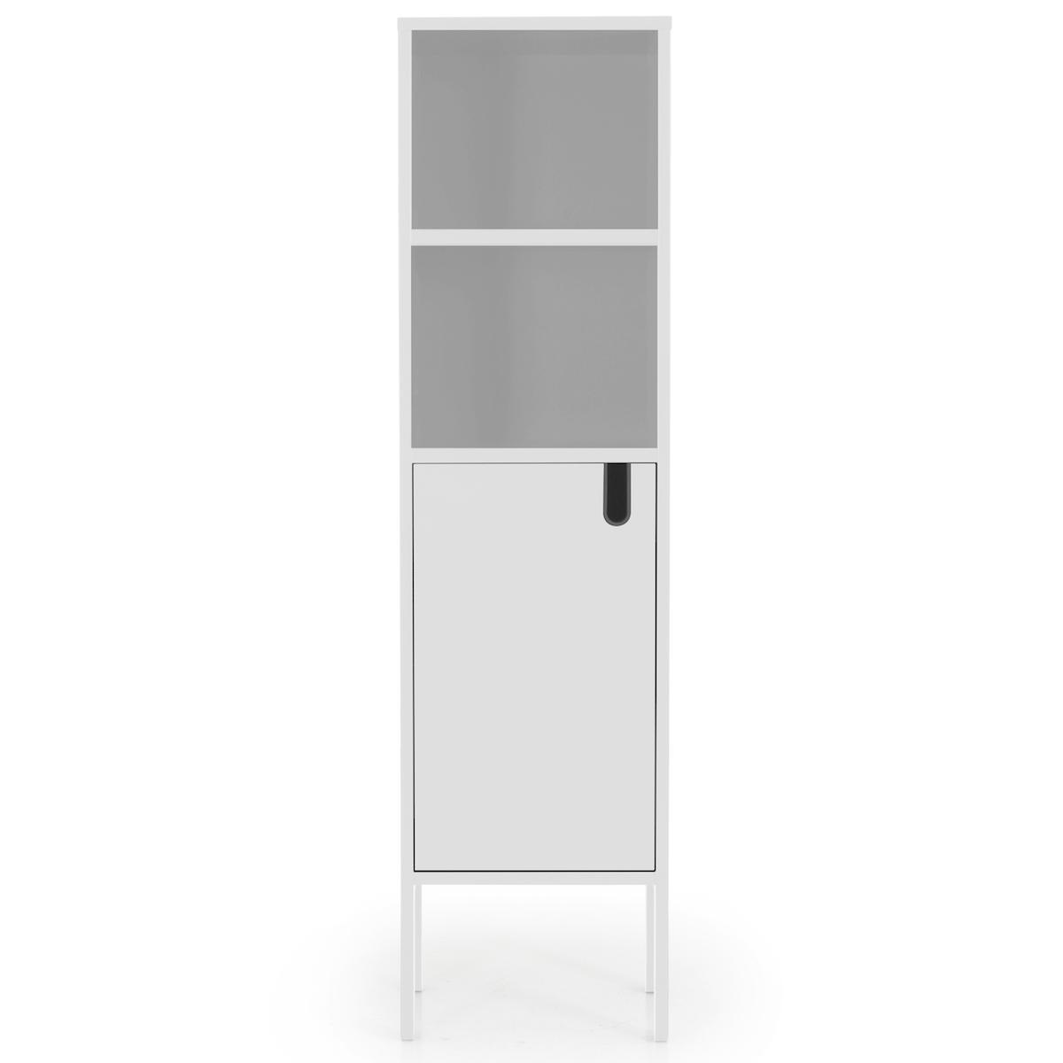 Cabinet etroit UNO Tenzo blanc