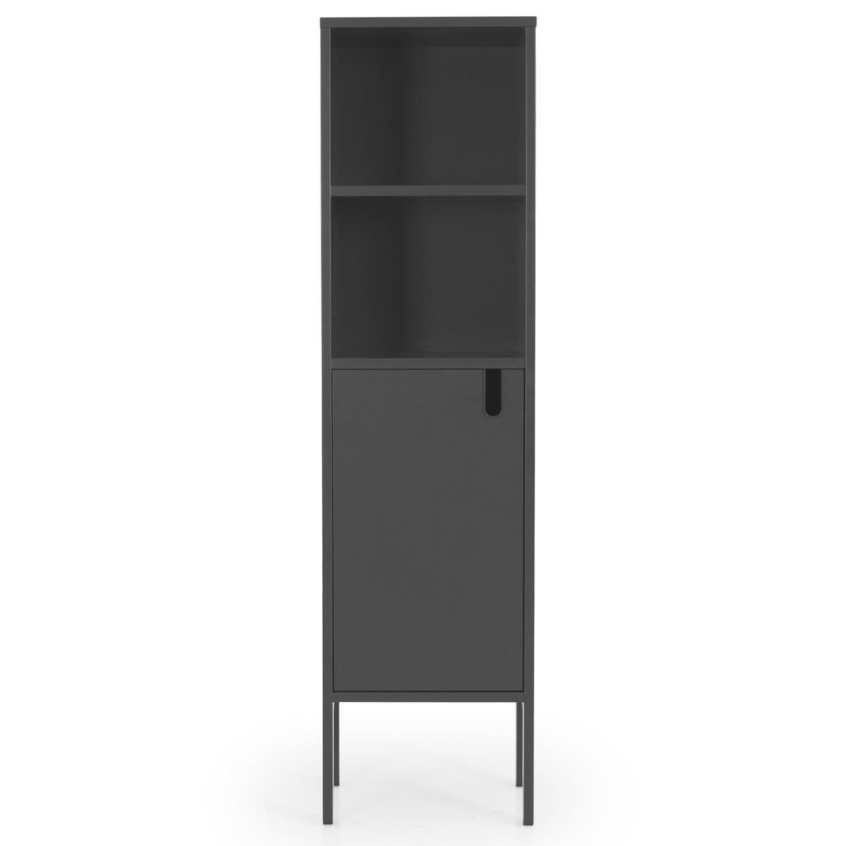 Cabinet etroit UNO Tenzo gris