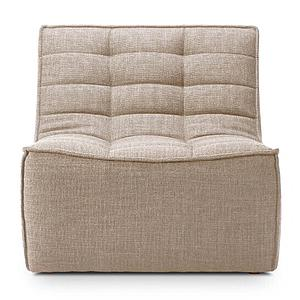 Canapé 1 place N701 Ethnicraft beige