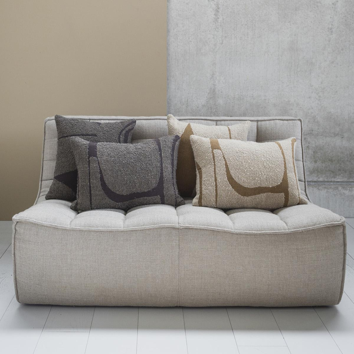 Canape 2 places N701 Ethnicraft beige